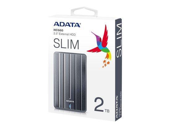 """ADATA HC660 2TB, 2,5"""", USB 3.0, AHC660-2TU3, AHC660-2TU3-CGY"""