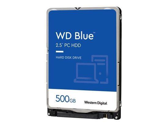 """WD BLUE WD5000LPCX 500GB SATA/600 16MB cache, 2.5"""" AF, 7mm, WD5000LPCX"""