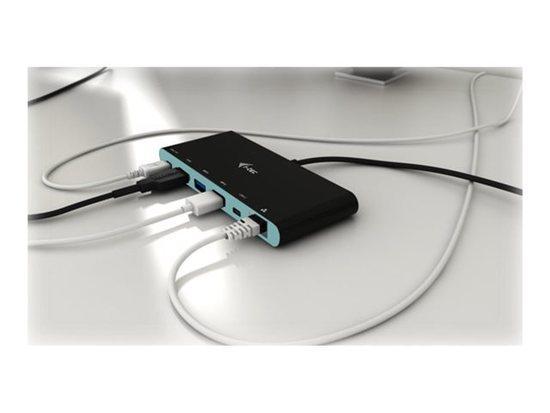 i-Tec USB-C 3.1 - mini 4K Travel dokovací stanice - multifunkční adaptér , C31MINIDOCK4KPD