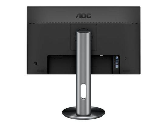 "AOC LCD I2490PXQU 23,8"" IPS/1920x1080/20m:1/4ms/VGA/HDMI/4xUSB/DP/pivot/repro/black, I2490PXQU/BT"