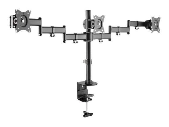 LOGILINK - Triple monitor desk mount,13-27``, max. 8 kg, BP0050