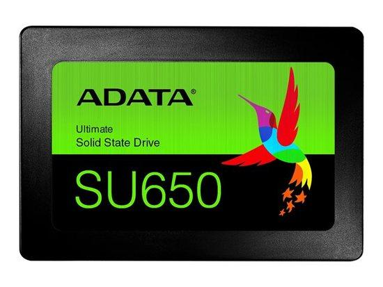 SSD ADATA Ultimate SU650 960GB SATA3 (Read/Write) 520/450 MB/s retail, ASU650SS-960GT-R