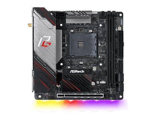 ASROCK MB X570 PHANTOM GAMING-ITX/TB3 (polychromatické RGB osvětlení, AM4, amd X570, 2xDDR4 4533, PCIE, HDMI, 4xSATA3+2xM.2, USB3.2, 7.1, GLAN +WIFI, mini ITX), X570 PHANTOM GAMING-ITX/TB3