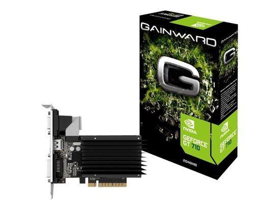 Gainward GeForce GT 710, 2GB DDR3 (Bit), HDMI, DVI, HEAT SINK, 426018336-3576