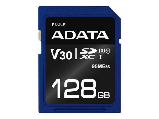 ADATA SDXC 128GB UHS-I U3 ASDX128GUI3V30S-R