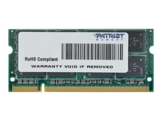 PATRIOT PSD22G8002S Patriot 2GB 800MHz DDR2 SODIMM, PSD22G8002S