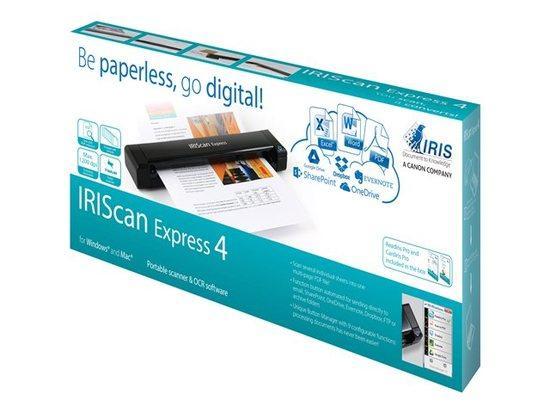 IRIS skener přenosný IRISCAN Express 4, 458510