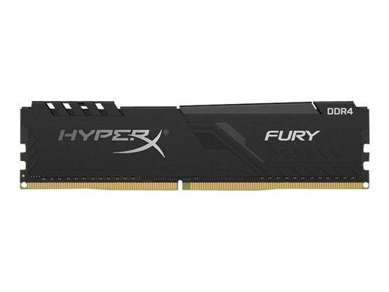 Kingston DDR4 16GB (Kit 2x8GB) HyperX FURY DIMM 2666MHz CL16 SR x8 černá