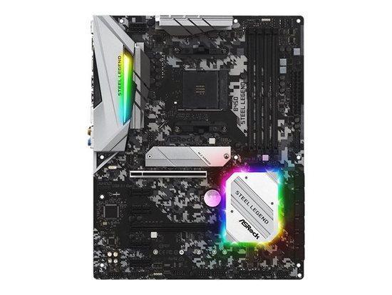 ASRock B450 Steel Legend / AM4 / 4x DDR4 DIMM / HDMI / DP / M.2 / USB Type-C / ATX, B450 STEEL LEGEND