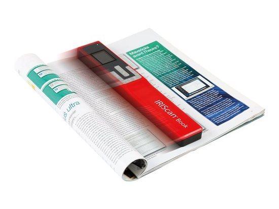 IRIS skener IRISCan Book 5 Red - přenosný skener, 458740