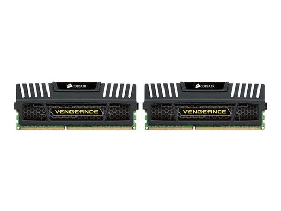 Corsair Vengeance Black DDR3 8GB 1600MHz CL9 (2x4GB) CMZ8GX3M2A1600C9