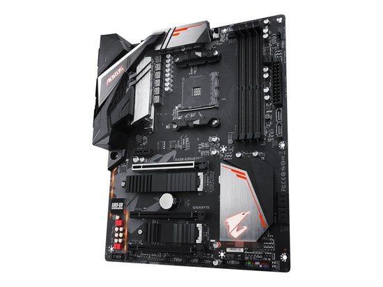 Gigabyte B450 AORUS PRO, AM4, DDR4-3200, USB 3.1+Type C, DVI-D/HDMI, B450 AORUS PRO