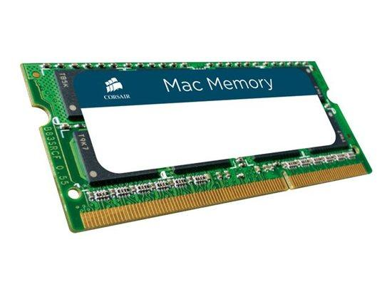 CORSAIR MAC/APPLE 4GB SO-DIMM DDR3 1066MHz 7-7-7-20 (4096MB, 204pin), CMSA4GX3M1A1066C7