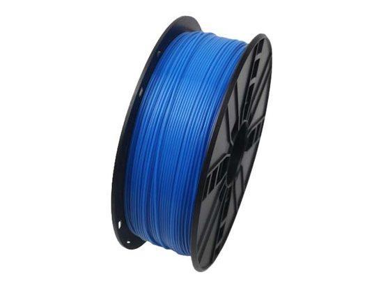 Gembird tisková struna (filament), PLA, 1,75mm, 1kg, fluorescentní, modrá (3DP-PLA1.75-01-FB), TIF05