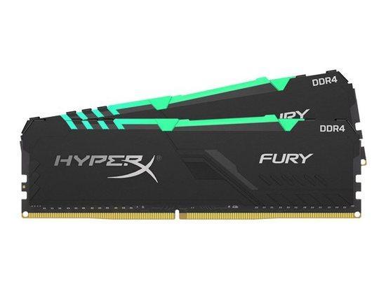 16GB DDR4-3200MHz CL16 HyperX Fury RGB, 2x8GB