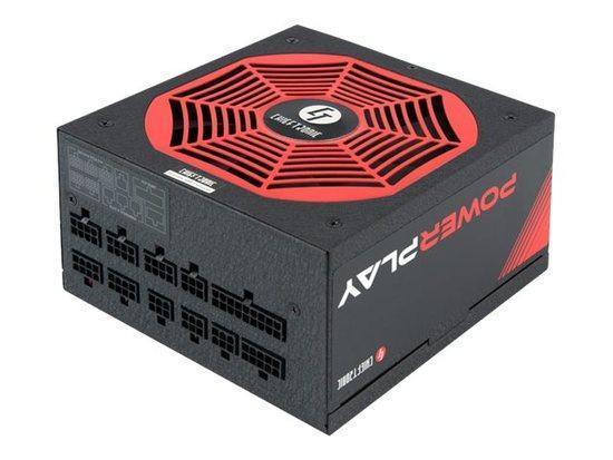 CHIEFTEC zdroj PowerPlay Series GPU-850FC, 850W, PFC, 14cm fan, 80+ Platinum, GPU-850FC