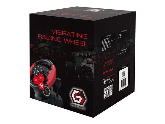 Gembird USB volant s vibracemi (PC/PS2/PS3)
