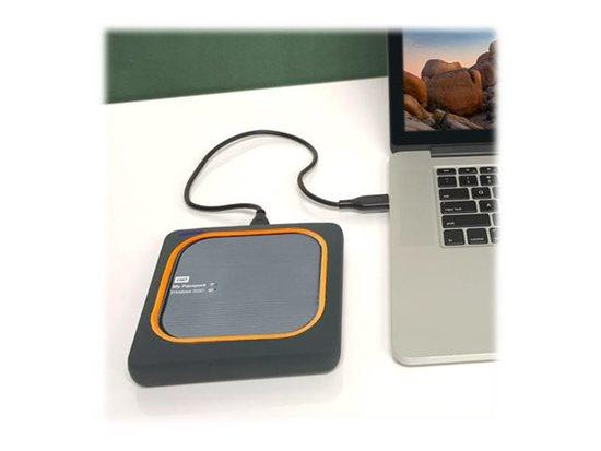 WD My Passport Wireless 250GB, USB3.0, WDBA500AGY-EESN, WDBAMJ2500AGY-EESN