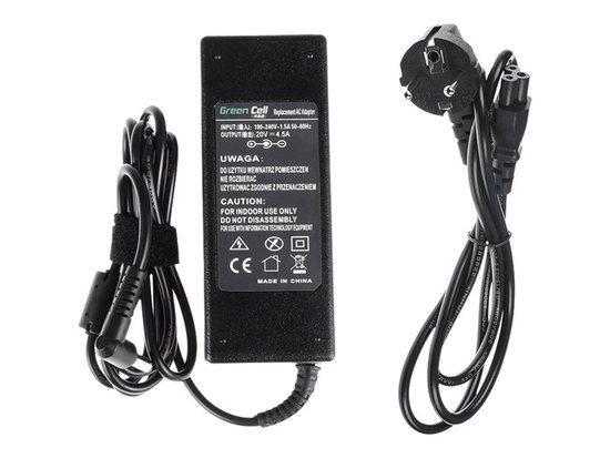 Green Cell Pro Nabíječka Fujitsu-Siemens 90W | 20V | 4.5A | 5.5mm-2.5mm