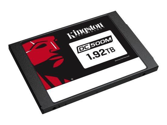 "Kingston SSD 1920GB DC500M SATA III 2.5"" 3D TLC (čtení/zápis: 555/520MB/s; 98/75K IOPS), SEDC500M/19"