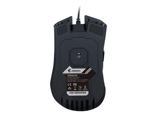 Gigabyte Gaming Mouse AORUS M5, Black, GM-AORUS M5