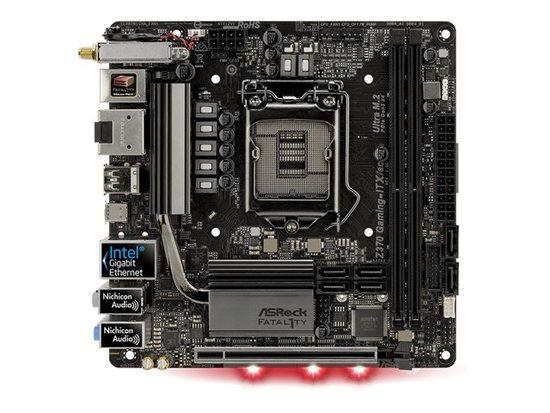 ASRock Z370 GAMING-ITX/AC ,2*DDR4 ,6*SATA3, Z370 GAMING-ITX/AC