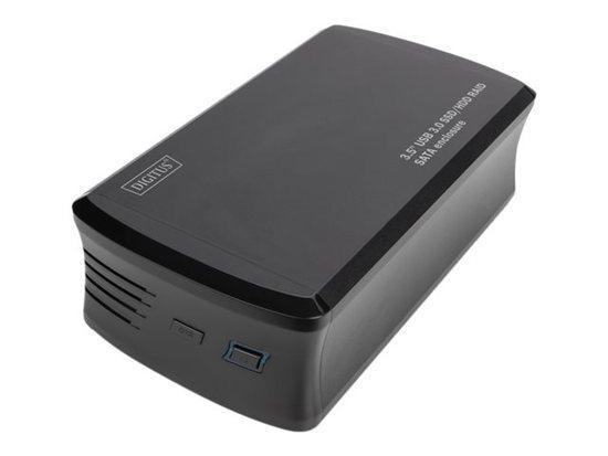 External SSD/HDD Enclosure USB 3.0 3.5`` RAID SATA, JBOD, RAID0, RAID1, aluminiu, DA-71117