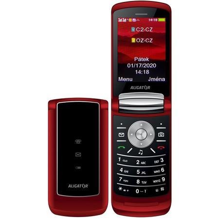 Aligator DV800 Dual SIM, červená