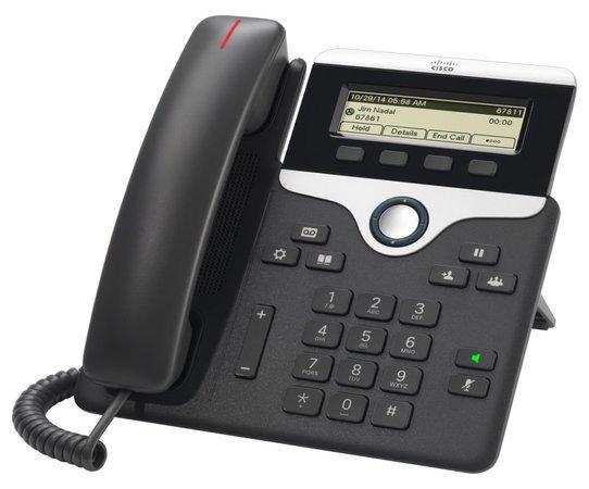 Cisco CP-7811-3PCC-K9=, VoIP telefon, 1line, 2x10/100, displej, PoE, CP-7811-3PCC-K9=