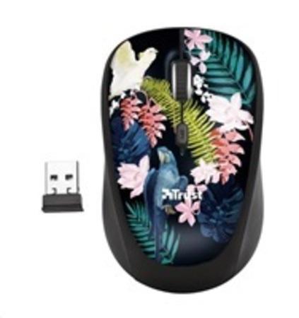 TRUST Myš Yvi Wireless Mouse - parrot
