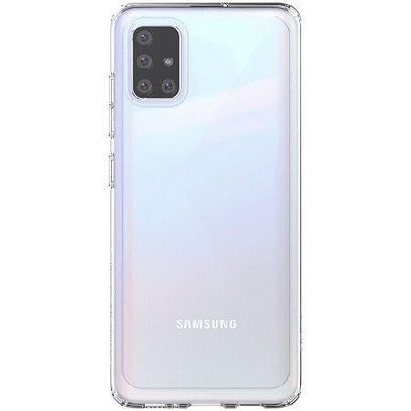 Poloprůhledný zadní kryt pro Samsung Galaxy A51 Transparent