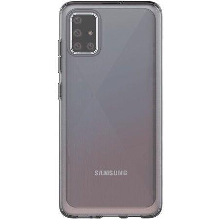 Poloprůhledný zadní kryt pro Samsung Galaxy A51 Black
