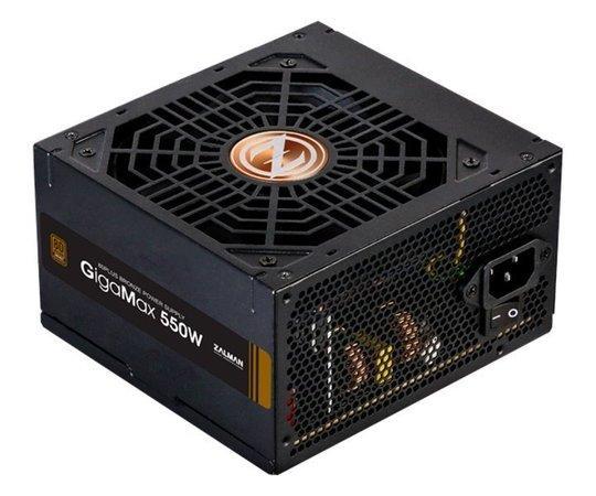 Zalman zdroj Gigamax 550W/ ATX / akt. PFC / 120mm ventilátor / 80PLUS Bronze, ZM550-GVII