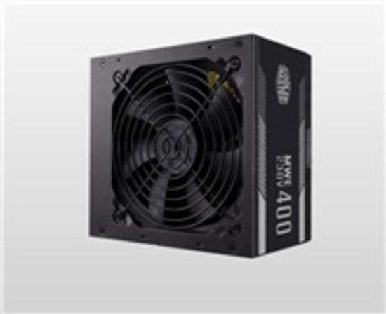 Cooler Master zdroj MWE 400 WHITE 230V - V2, 120mm, 80+, MPE-4001-ACABW-EU