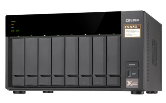 "QNAP TS-873-4G Turbo NAS server, AMD RX-421ND QC 2.1 GHz/4GB/RAID 0,1,5,6,10/4xGL/8x 2.5/3.5"" SATA II/III HDD/SSD, UQ214"
