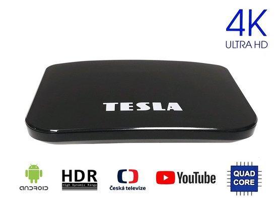 TESLA TEH500 hybridní MM box T2 HEVC FTA