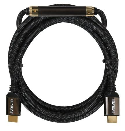 EVOLVEO XXtremeCord, kabel HDMI 2.0, 20 metrů + zesilovač sig., podpora UltraHD 4K2K/HDR