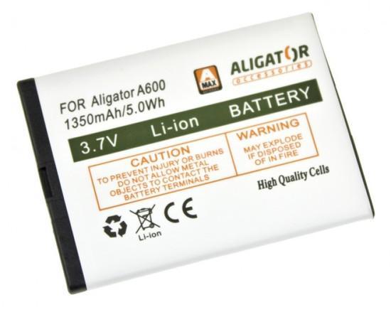 Baterie Aligator A600BAL