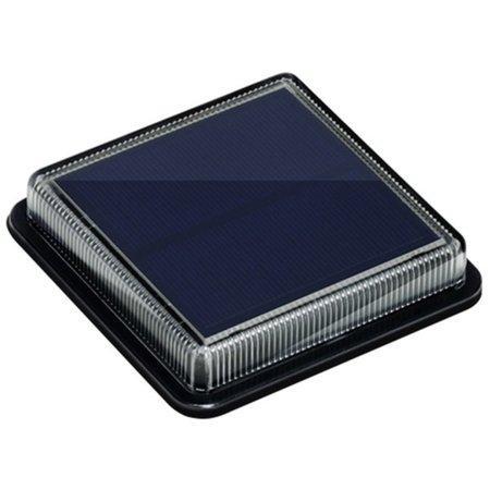IMMAX venkovní solární LED osvětlení TERRACE/ 1,5W/ 30lm/ IP68/ 110x110x22mm/ černá