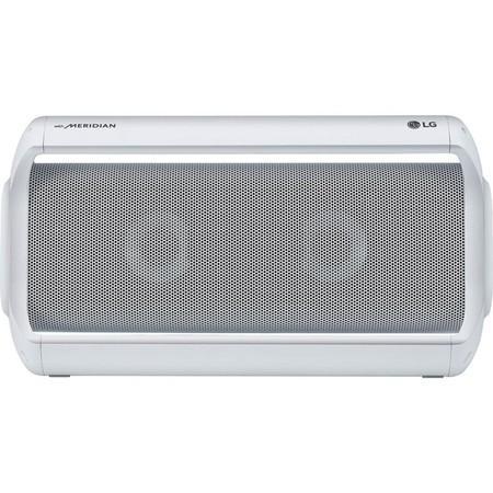 LG PK7 Bluetooth přenosný reproduktor bílý, PK7W