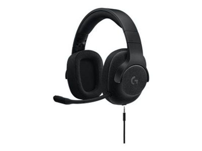 G433 Gaming Headset Black Emea LOGITECH