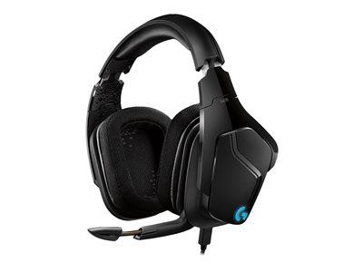Logitech Gaming Headset G635 7.1 Surround Sound LightSync, USB, Black