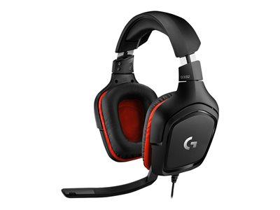 Logitech® G332 Gaming Headset LEATHERETTE- EMEA