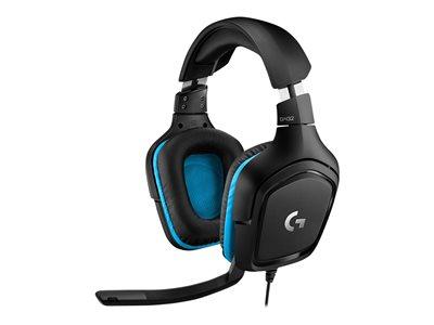 Logitech® G432 Gaming Headset LEATHERETTE- EMEA