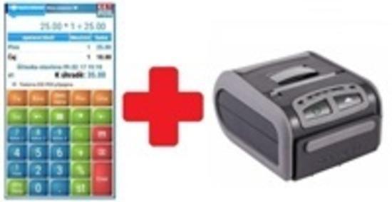 EET-POS plná verze + odolná tiskárna DATECS DDP-250, EET-POS-PRINT2