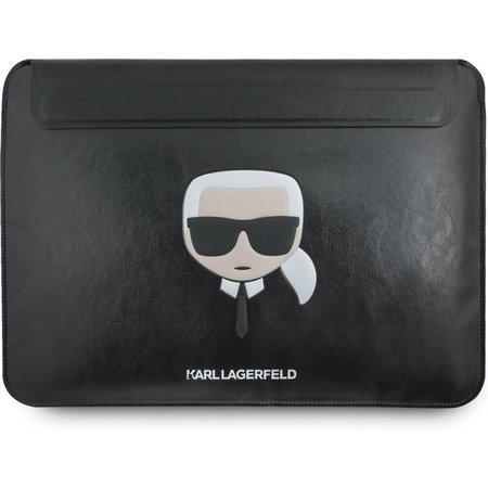 KLCS133KHBK Karl Lagerfeld Kožené Sleeve Pouzdro pro MacBook Air/Pro, 2450823
