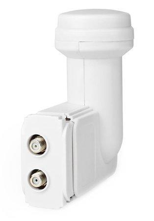 NEDIS univerzální LNB konvertor/ dva výstupy/ úroveň šumu: 0,2–0,7 dB