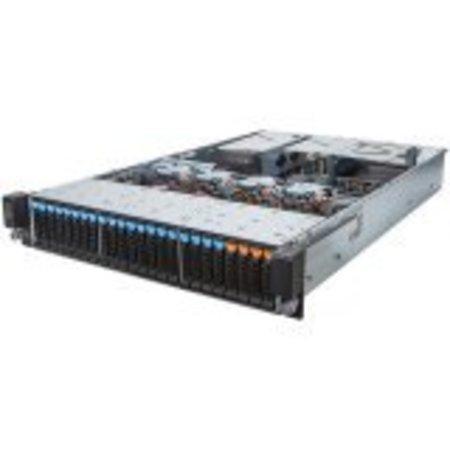 "Gigabyte R28N-F2O Standard Rackmount Server, E5-2600 V3/V4, 24 x RDIMM/LRDIMM ECC, 4 x 2.5""NVMe bays, 20 x 2.5"" SAS/SATA"