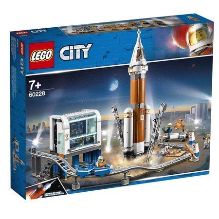 Lego City Space Port Start vesmírné rakety