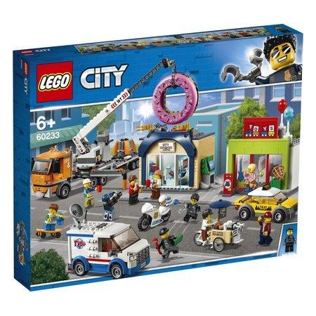 Lego City Town Otevření obchodu s koblihami